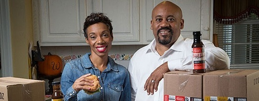 Image: Couple Chevalo & Monique Wilsondebriano Debuts Charleston Gourmet Burger Company On QVC