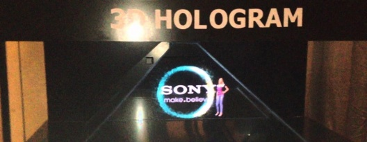 Image: Sony Develops Interactive Hologram
