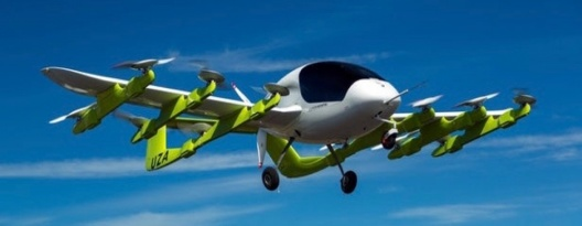 Image: Google Founder Announces Pilotless Flying Taxi