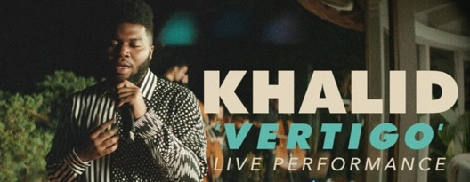 Image: Khalid Performs 'Vertigo' for Vevo