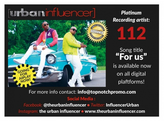 "Image:   Urban Influencer "" Certified R&B  Artist""  112"