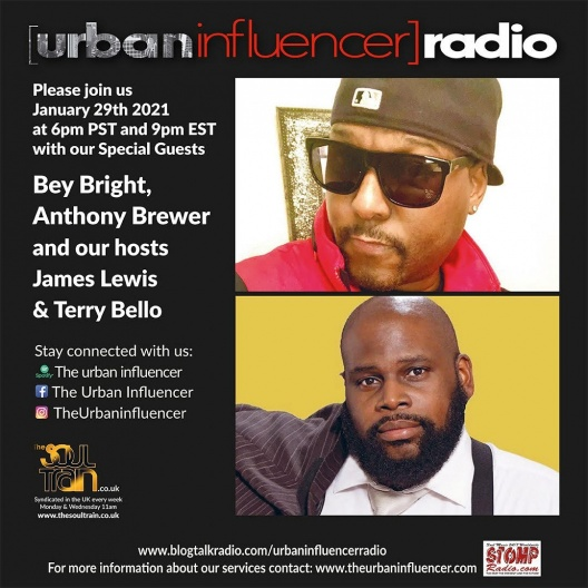 Image: Urban Influencer Radio (Ep. 62) ft. Anthony Brewer and Bey Bright