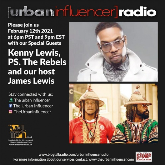 Image: Urban Influencer Radio (Ep. 64) ft. Kenny Lewis, and PS. The Rebels