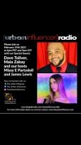 Image: Urban Influencer Radio (Ep. 65) ft. Dave Tolliver and Maia Zakay