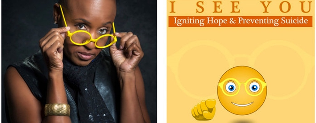 "Image: Author Cheron K. Griffin Goes All In to Help Prevent Suicide with Latest book  ""I SEE YOU: Igniting Hope & Preventing Suicide"""