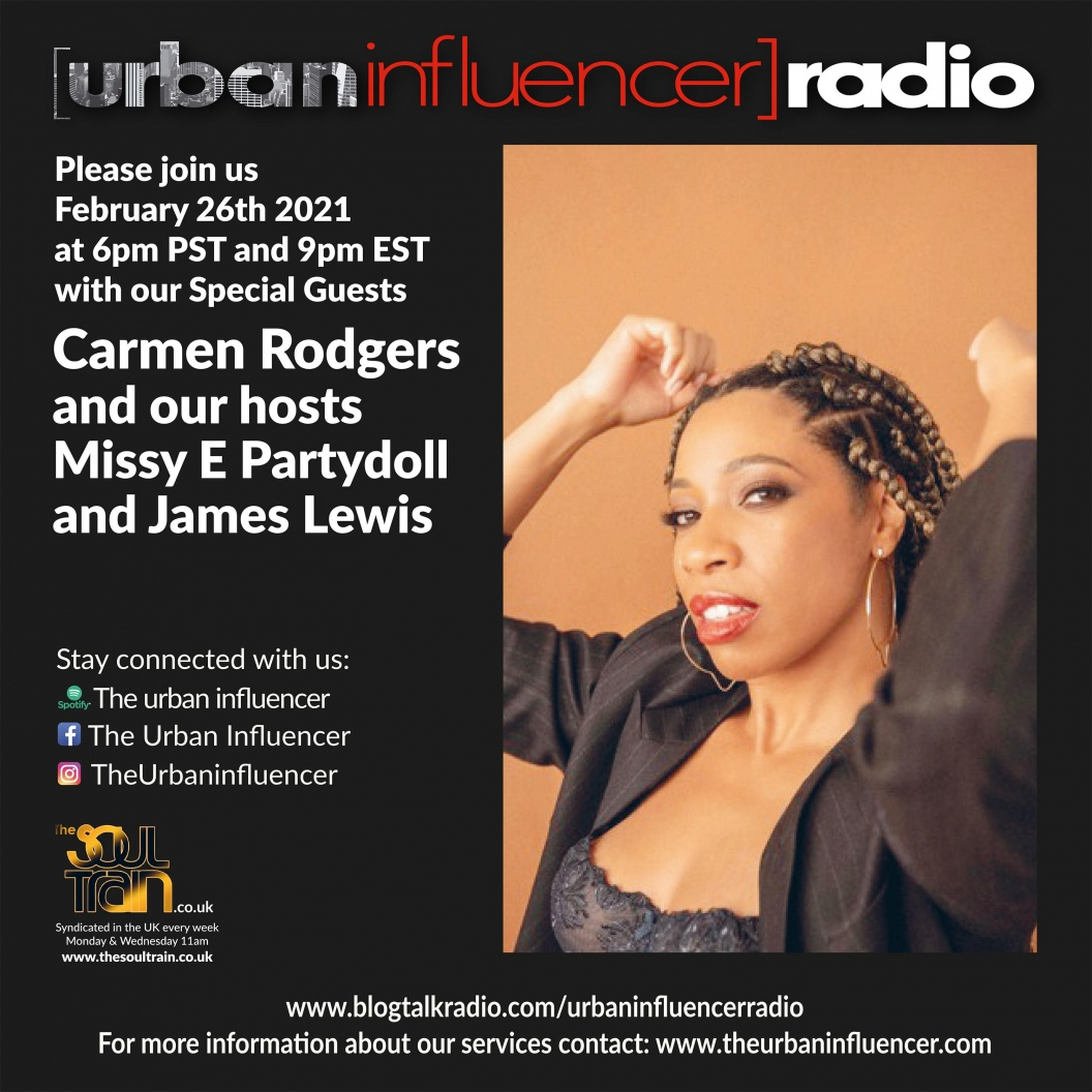 Image: Urban Influencer Radio (Ep. 66) ft. Carmen Rodgers