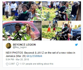 What Are Beyonce and Jay Z Filming In Jamaica? (Plus Updated